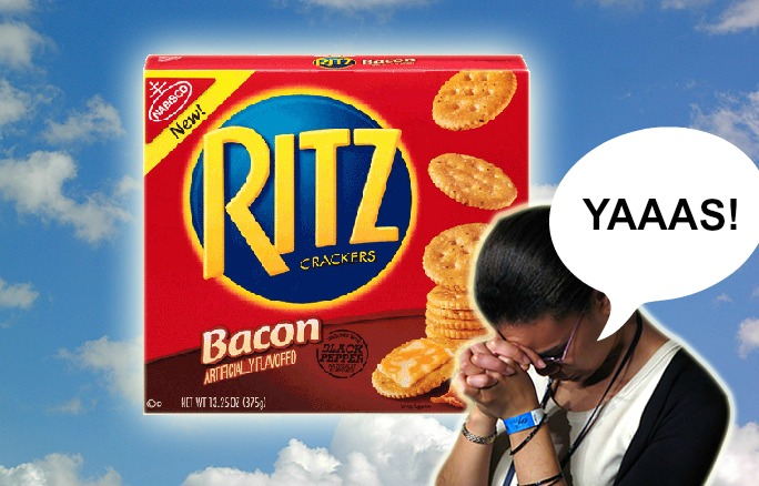 ritz prayer bacon photo