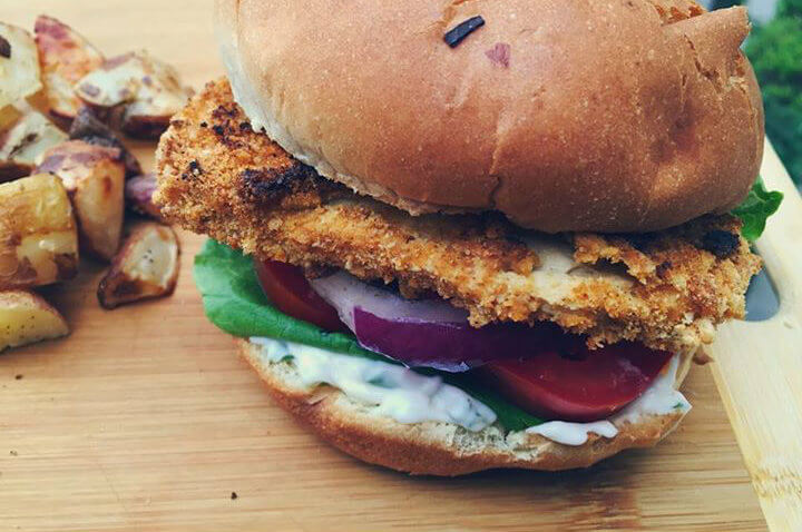 Vegan Chicken Sandwich