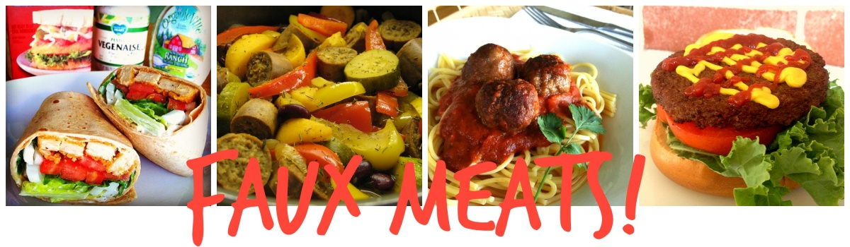 Faux Meats Collage