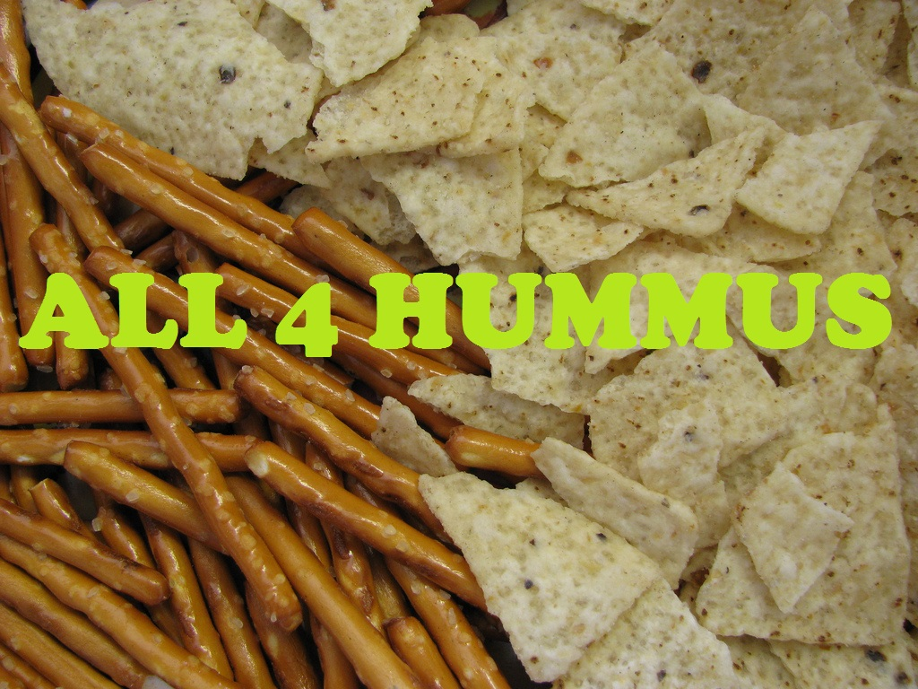 hummus and snacks