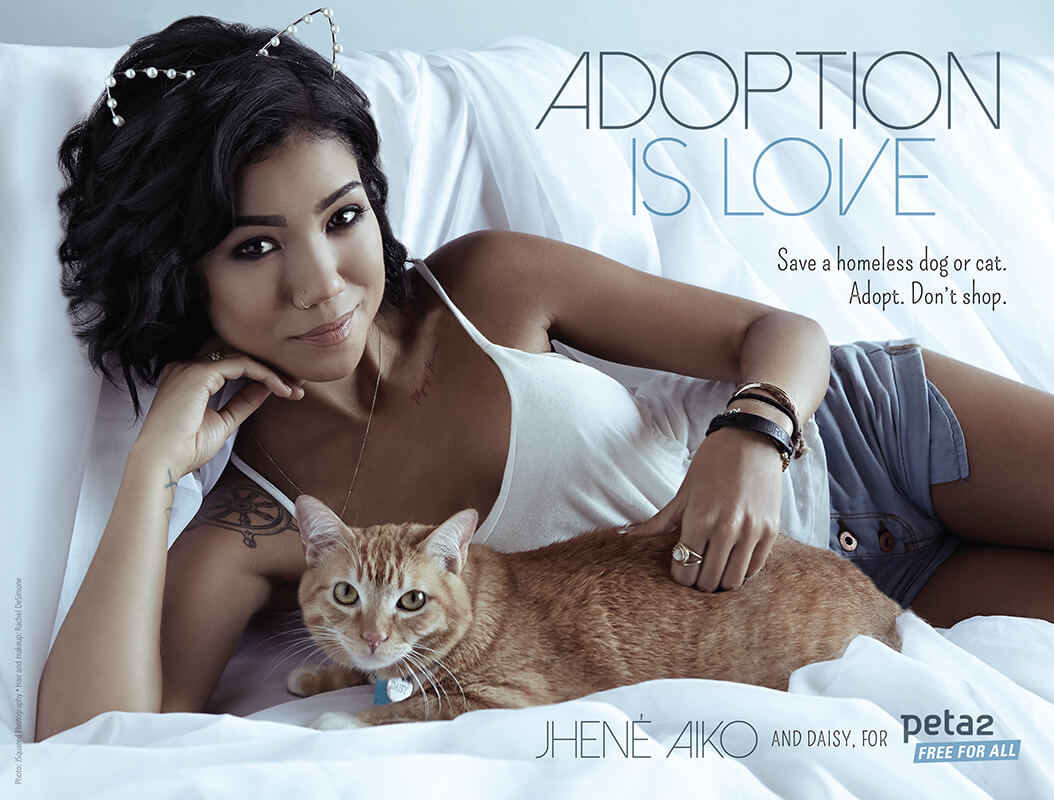 jhene aiko adopt don't shop ad