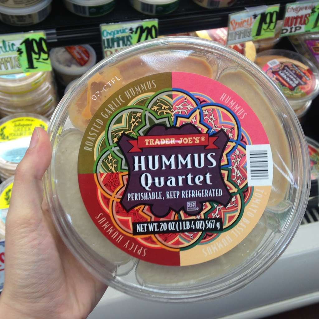 hummus from trader joe's