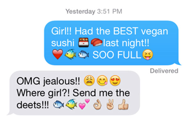 Crazy about emojis!