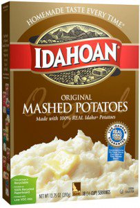 SFW Instant Mashed Potatoes