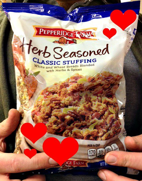 SFW Pepperidge Farm Stuffing with Hearts