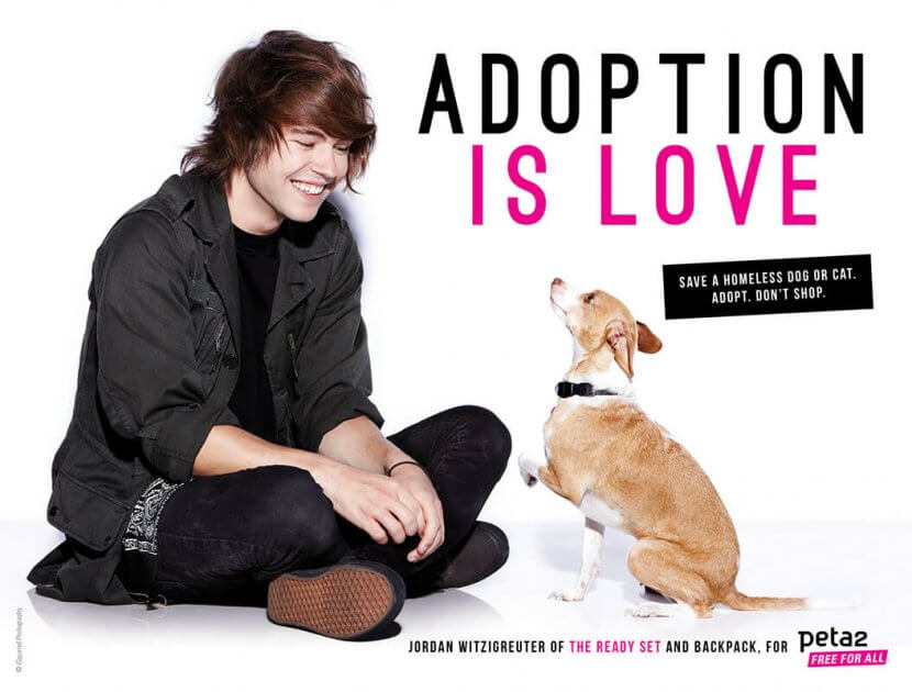 Adopt, Don't Shop with The Ready Set and Backpack!