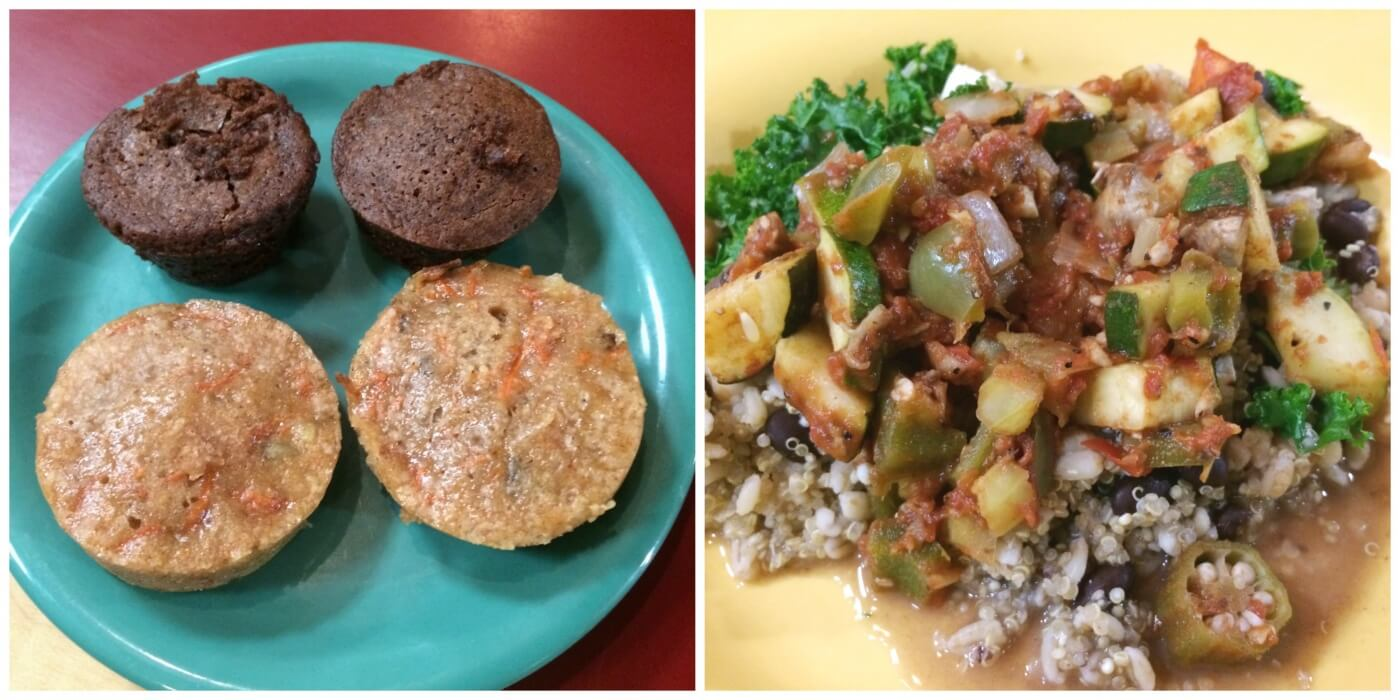 Vegan brownies, carrot cake bites, and veggie gumbo are just a few of the delicious options served at Daily Root, ASU's first vegan dining station.