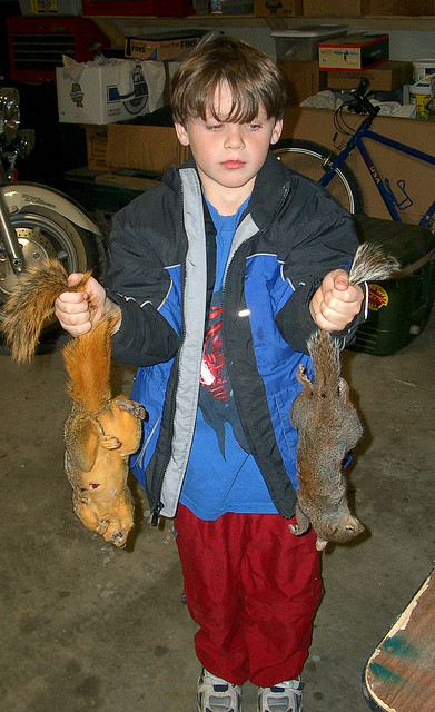 To attract more hunters (and their money), federal and state agencies actively recruit children because they know that most people will never take up hunting if they aren't exposed to it early in life.