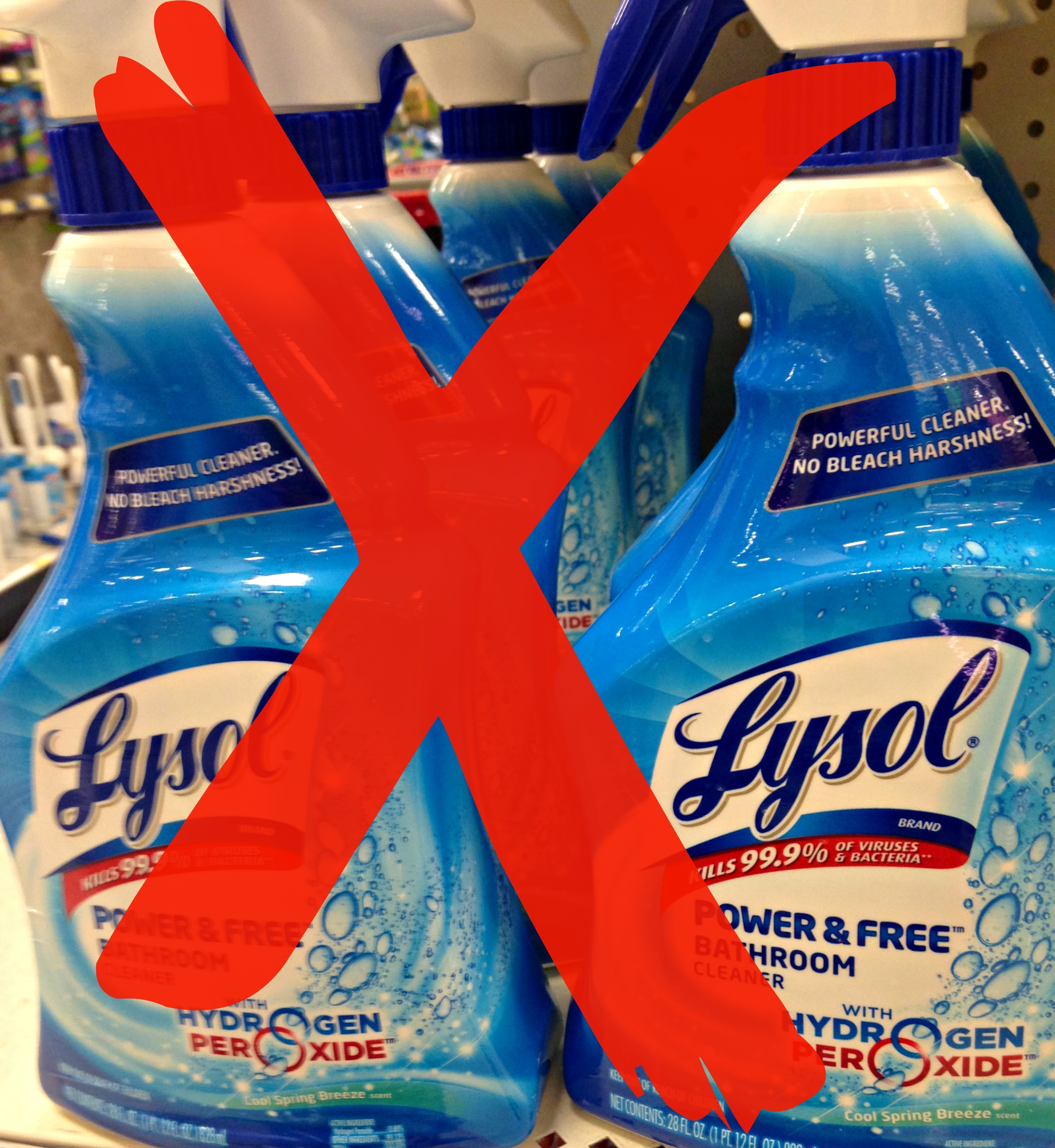 Lysol cleaner