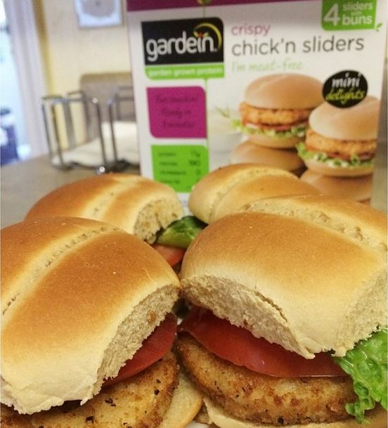gardein chicken sliders