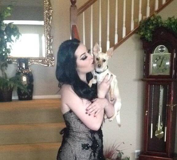 prom pic with pup