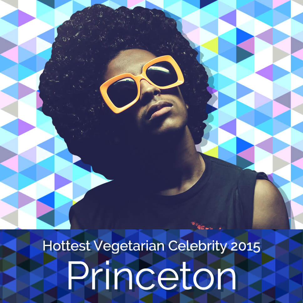 Vegan singer Princeton of Mindless Behavior