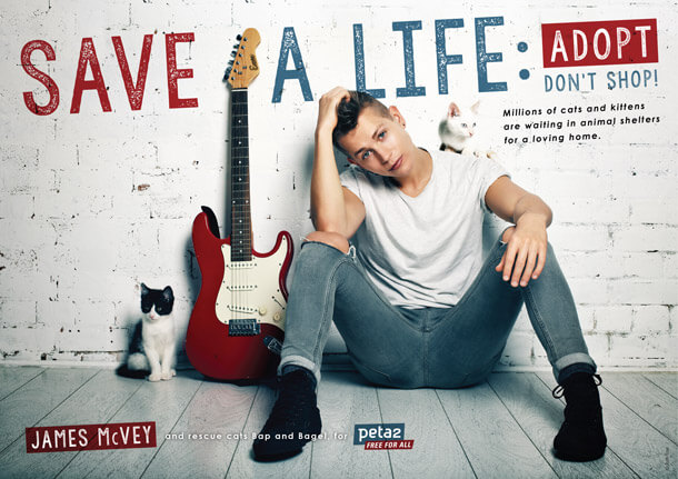 James McVey Ad