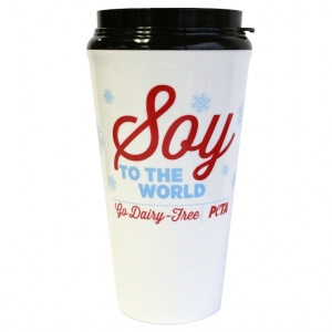 Soy To The World Coffee Cup