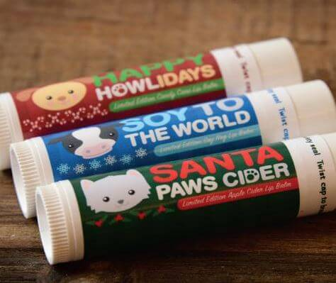 holiday lip balm 3 pack
