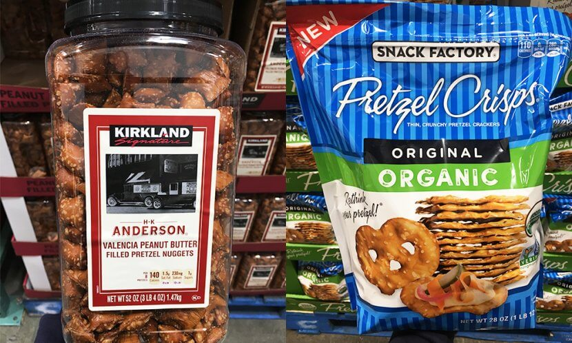 You Wouldnt Think That Pretzels Would Get Their Own Snack Category Until Realize Costco Carries Multiple Kinds From Kirkland Signature Peanut