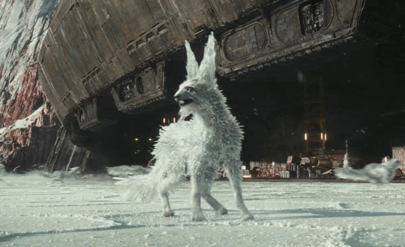 animal rights messages in the last jedi
