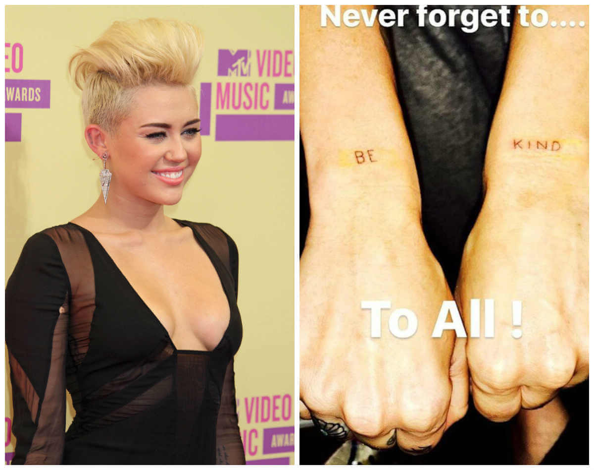 Meaning behind miley cyrus new vegan tattoo