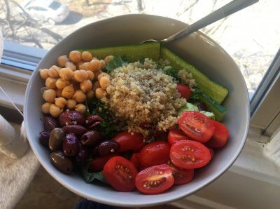 Healthy Middle Eastern-Inspired Bowl