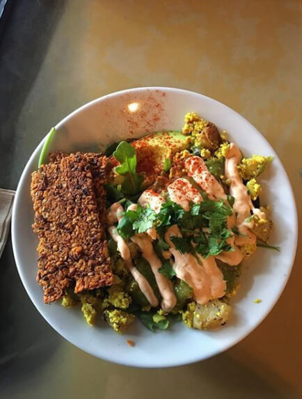 You Ll Think Re In Vegan Heaven At Chimera Which Boasts Buffalo Cauliflower Wings A Daydream Nation Bowl With Tofu Scramble Adzuki Bean Bacon
