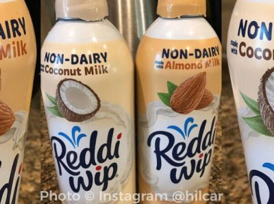 Reddi-wip Just Launched Two Nondairy Whipped Creams!