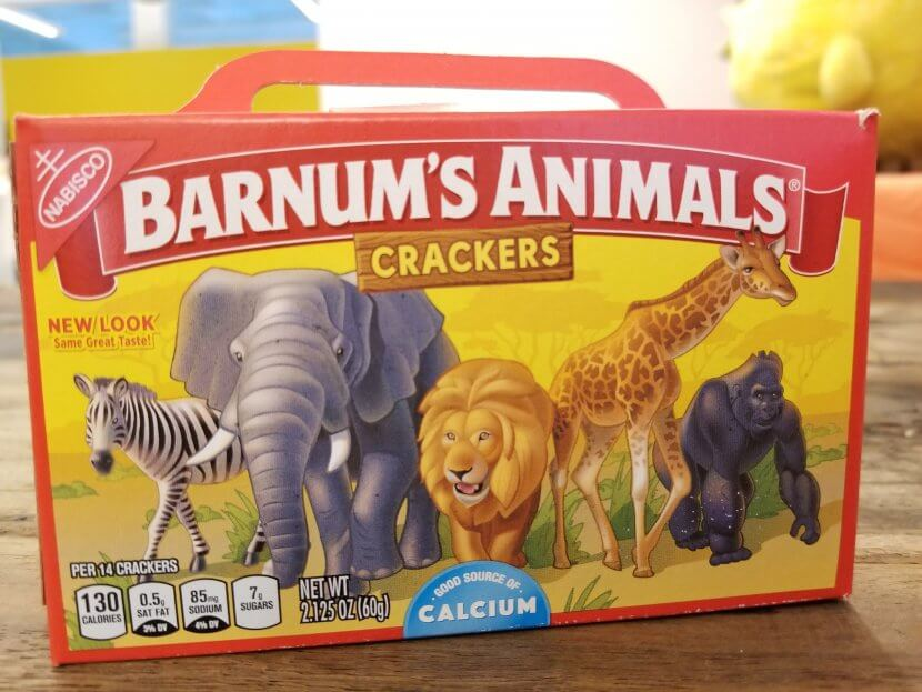 animal crackers new package