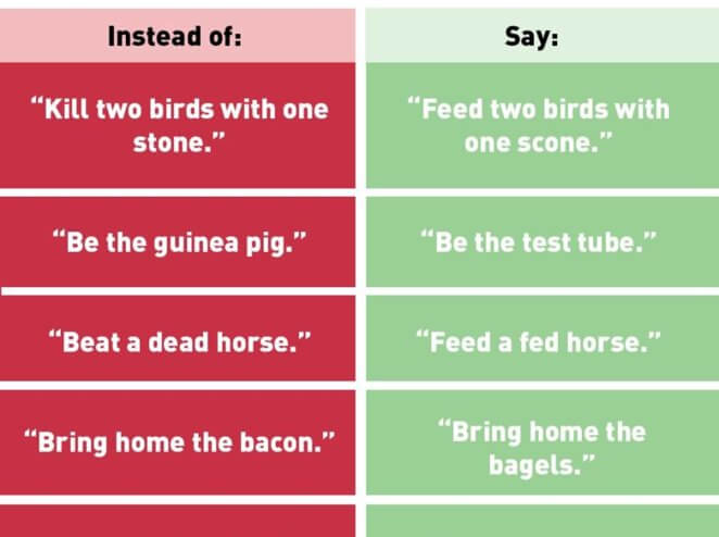'Bring Home the Bagels': PETA Suggests Anti-Speciesist Language, but Many Miss the Point
